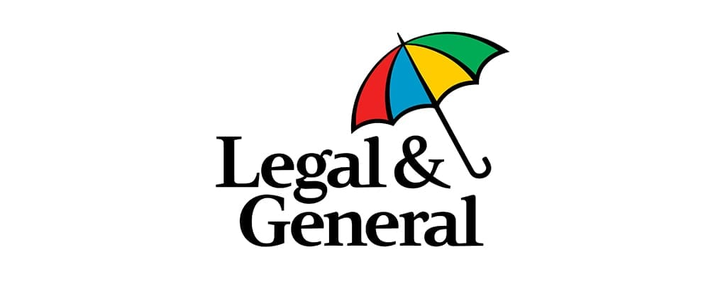 Financial services firm Legal and General logo